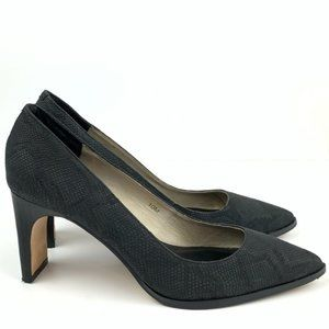 Matt Bernson heels size 10 Black charcoal gray